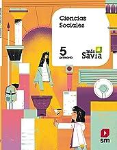 Ciencias sociales. 5 Primaria. Más Savia. (Spanish Edition)