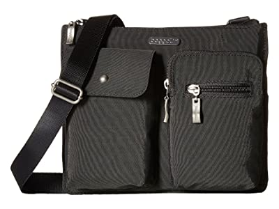 Baggallini Legacy Everything Bagg (Charcoal) Cross Body Handbags
