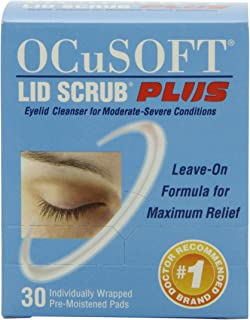 OCuSOFT Lid Scrub Plus, Pre-Moistened Pads, 30 Count | ⭐️ Exclusive