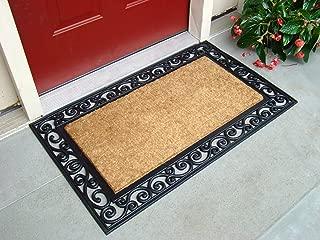 rubber and coir outdoor mats