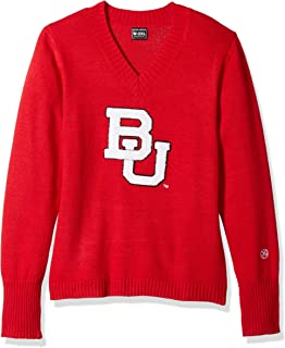 Medium Alma Mater NCAA Indiana Hoosiers Mens Quarter Zip Sweater Crimson