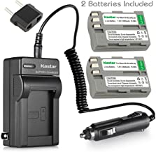 Kastar Battery (2-Pack) and Charger Kit for Nikon EN-EL3e, EN-EL3a, EN-EL3, MH-18, MH-18a Work with Nikon D50, D70, D70s, D80, D90, D100, D200, D300, D300S, D700 Cameras and MB-D10, MB-D80 Grips