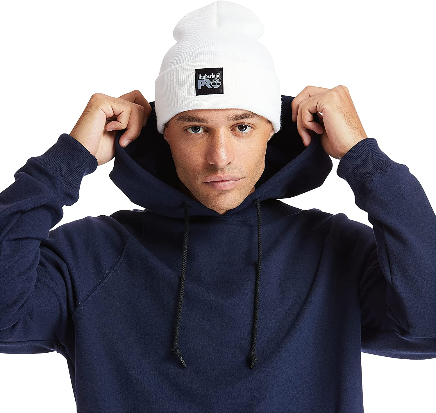 Timberland PRO unisex adult Watch Cap Beanie Hat, Off White, One Size US: Clothing