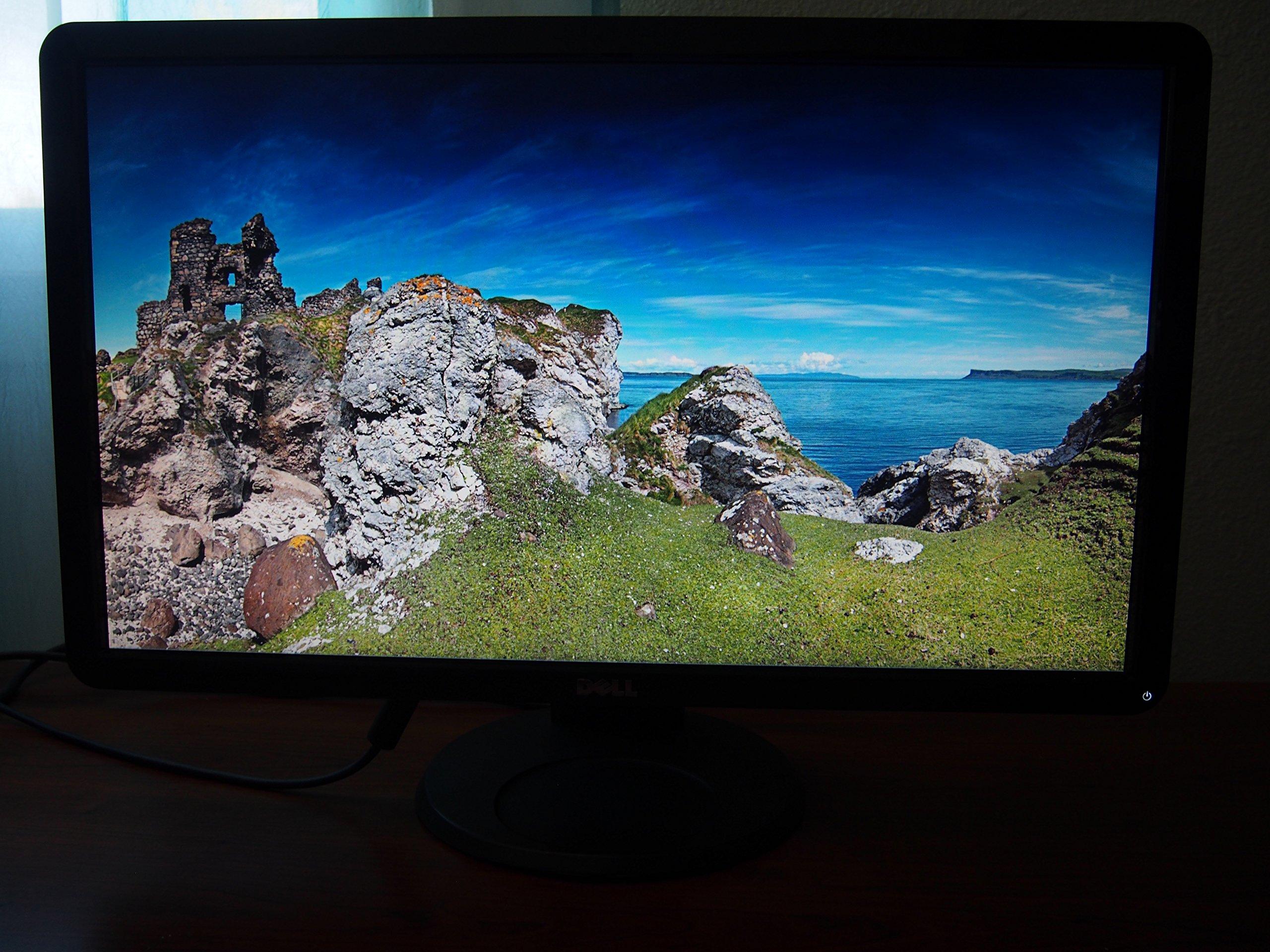 Dell S2409Wb Monitor LCD panorámico de 24 pulgadas con DVI/HDMI ...
