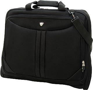Olympia Deluxe Garment Bag, Black (Black) - G-7740