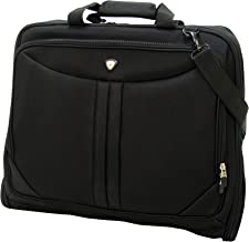 Olympia Luggage Deluxe Garment Bag, Black, One Size