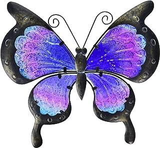 Regal Art & Gift 12355 Vintage Butterfly Decor 13-Purple Wall Décor, Blue