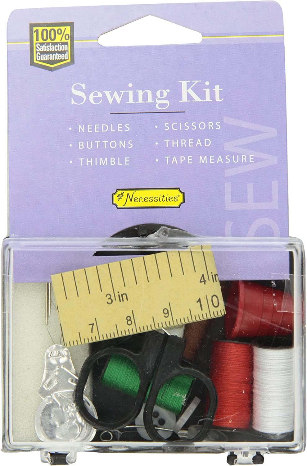 Lil' Drugstore Products Sewing Kit Washington Mall Buttons Needles Thimble S [Alternative dealer]