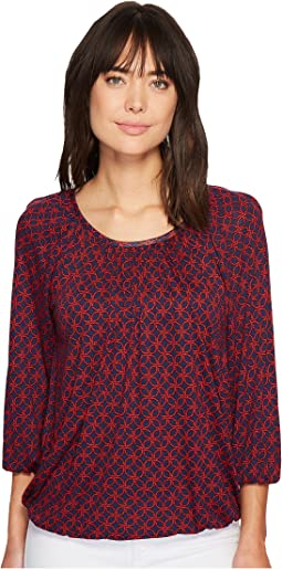 MICHAEL Michael Kors - Rope Geo Scoop Neck Top