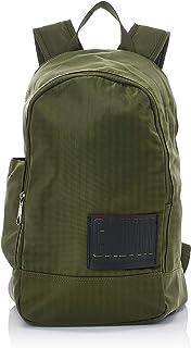 Calvin Klein Jeans Nylon Utility Rounded Backpack - Luggage & Travel Gear, Green, 45 cm - K50K505556