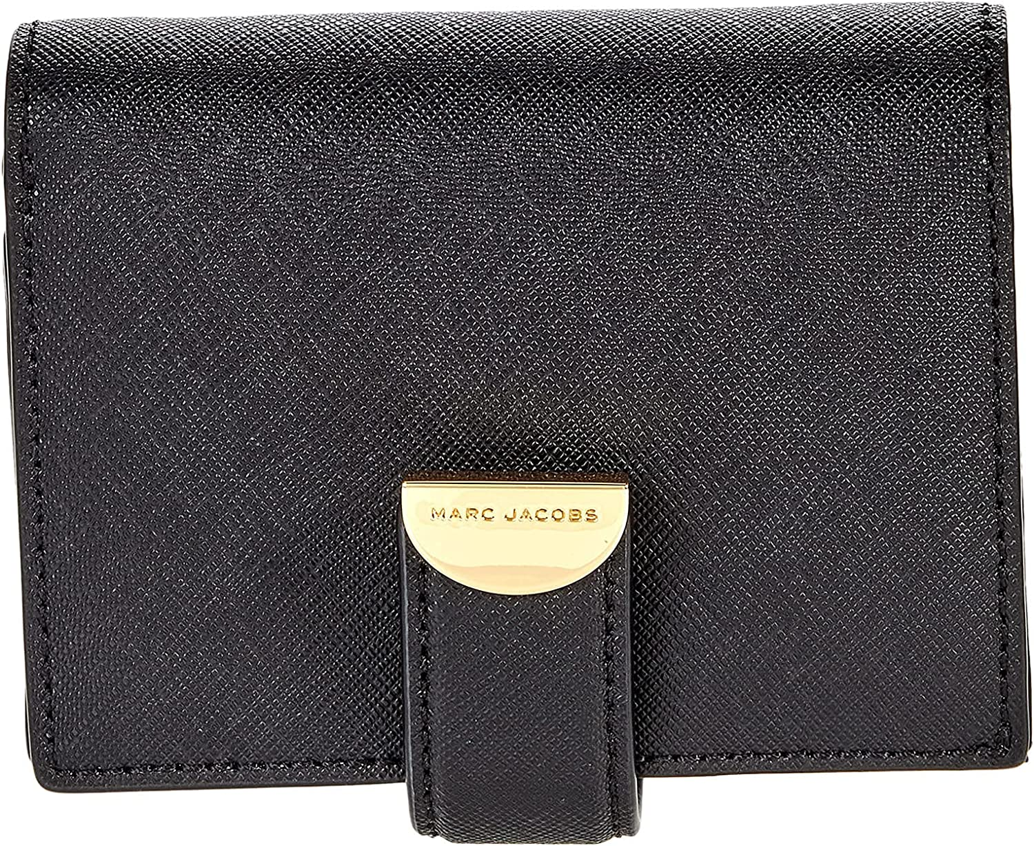 Popular overseas Marc Jacobs E-Half Moon Small Card Size Outlet sale feature One Black 1 Case