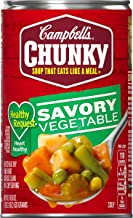Campbell's Chunky Healthy Request Savory Vegetables Soup, 18.8 oz. Can (Pack of 12)