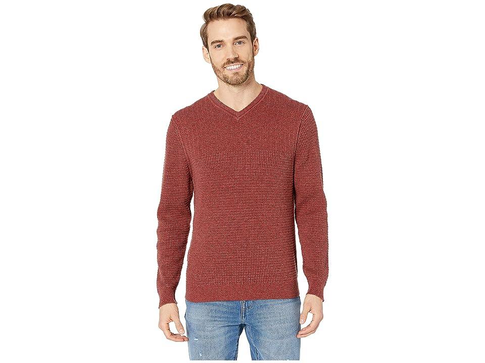 Tommy Bahama Isidro V-Neck Sweater (Plum Raisin) Men