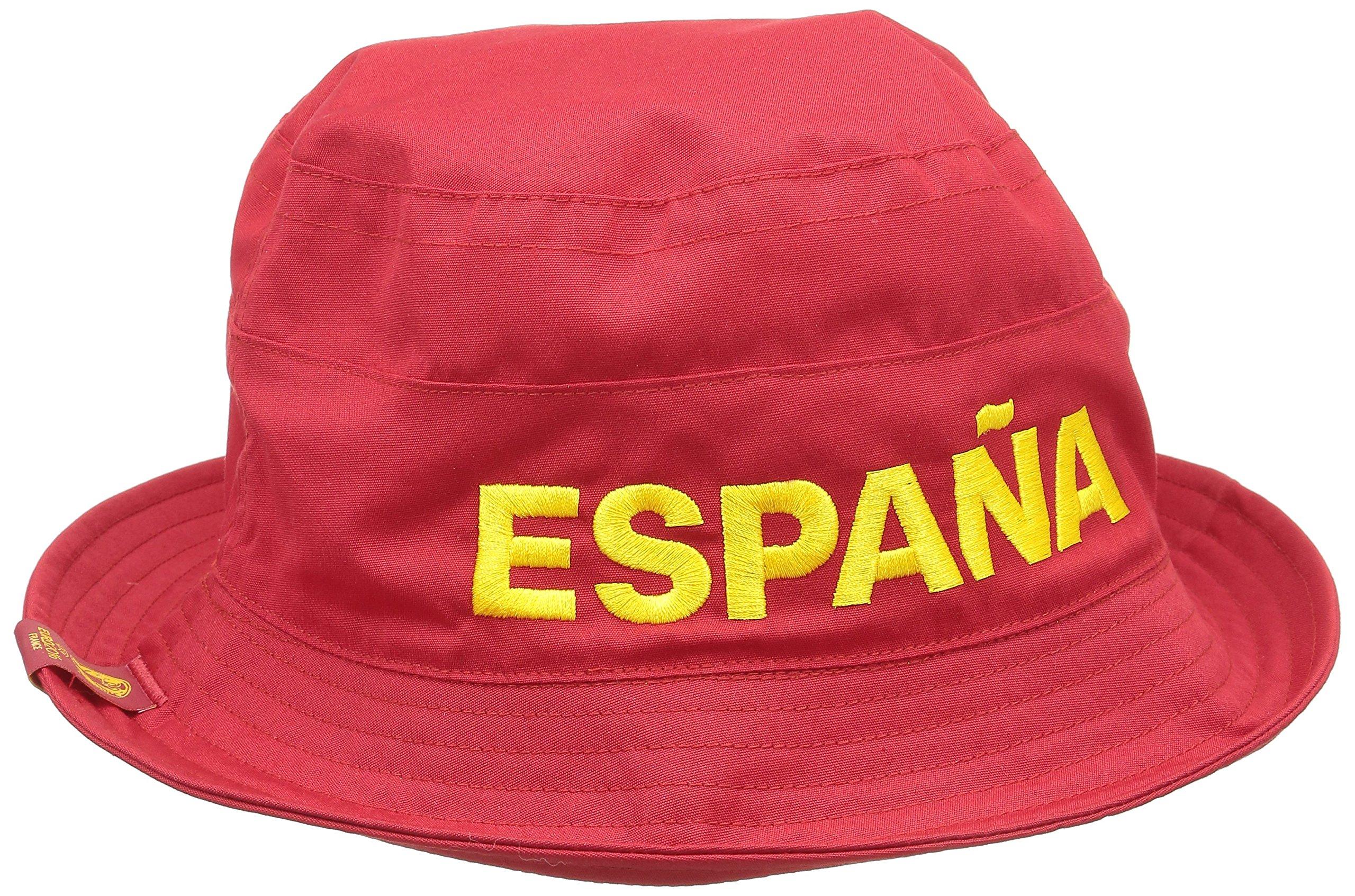 adidas Erwachsene Kappe CF REV Buck ESP Spanien Fischerhut, Rot, 58