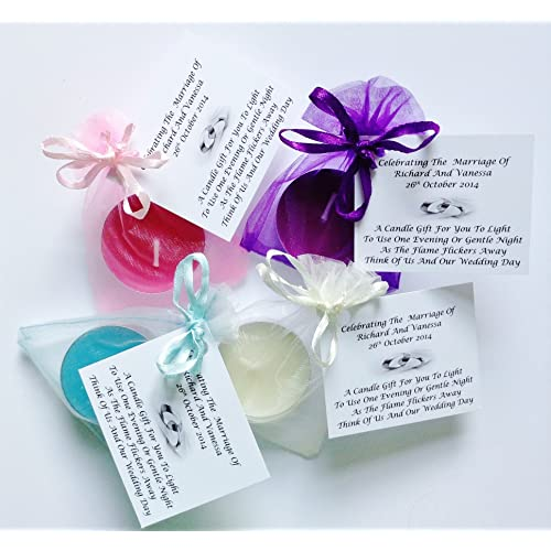 Wedding Favour Candles: Amazon.co.uk