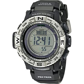 Casio Men's Pro Trek PRW3500 Solar Powered Atomic Digital Watch