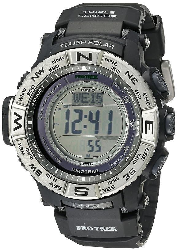 Casio Men's Pro Trek PRW3500 Solar Powered Atomic Digital Watch