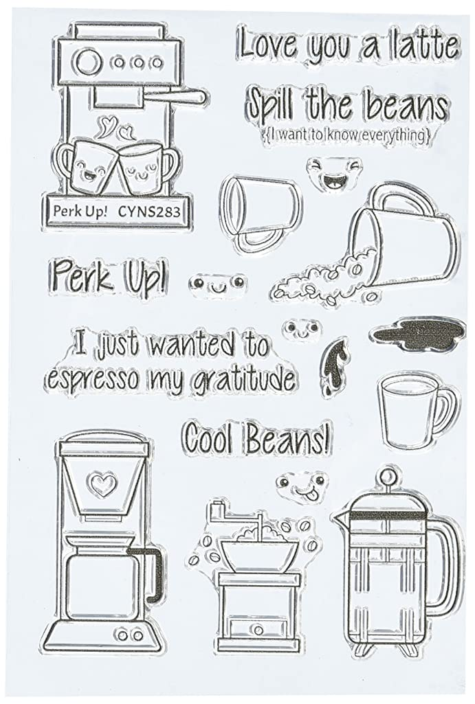 Your Next Stamp CYNS283 Perk Up Stamps, 4