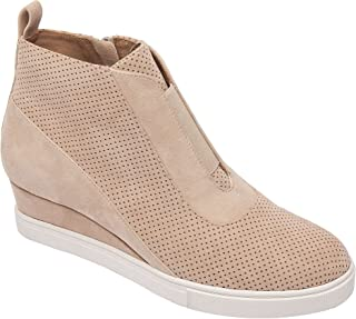 Linea Paolo Anna | Low Heel Designer Platform Wedge Sneaker Bootie Comfortable Fashion Ankle Boot (New Fall)