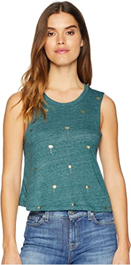 Mini Lotus Crop Tank Top