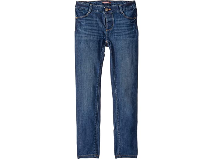 Tommy Hilfiger Girls Adaptive Seated Skinny Jeans with Adjustable Waist and Magnetic Hem