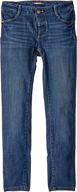 Vegas Wash 6 Tommy Hilfiger Girls Big Adaptive Seated Fit Cropped Pant with Adjustable Waist and Hems