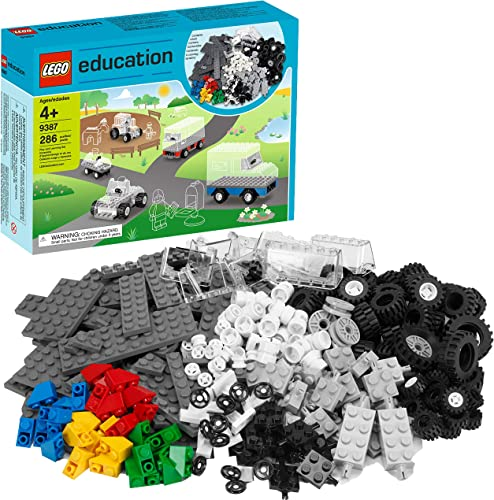 ¡no ser extrañado! LEGO 9387 Education - Ruedas (Nueva versión) versión) versión)  descuento online
