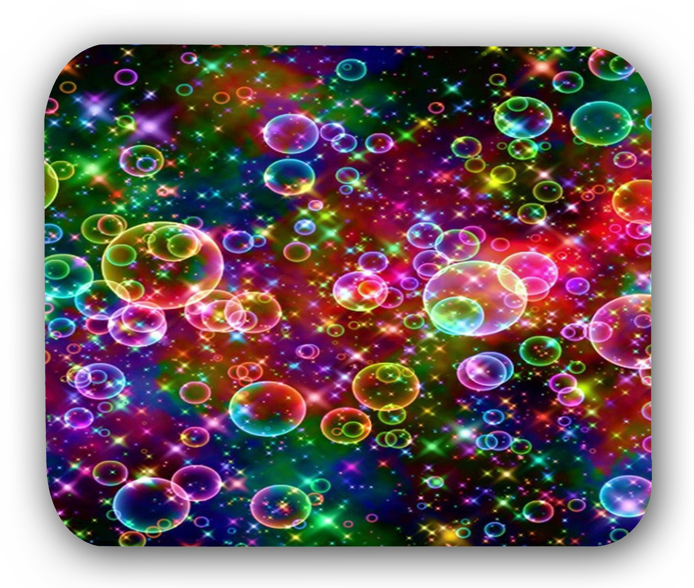 Colorful Bubbles Mousepad Anti Slip INFOPOSUSA