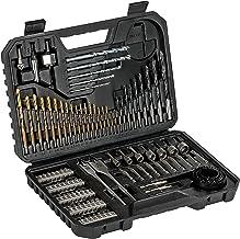 Bosch Set de brocas y puntas de atornillar de 103 unidades Titanium, madera, piedra y metal, accesorios para herramientas ...