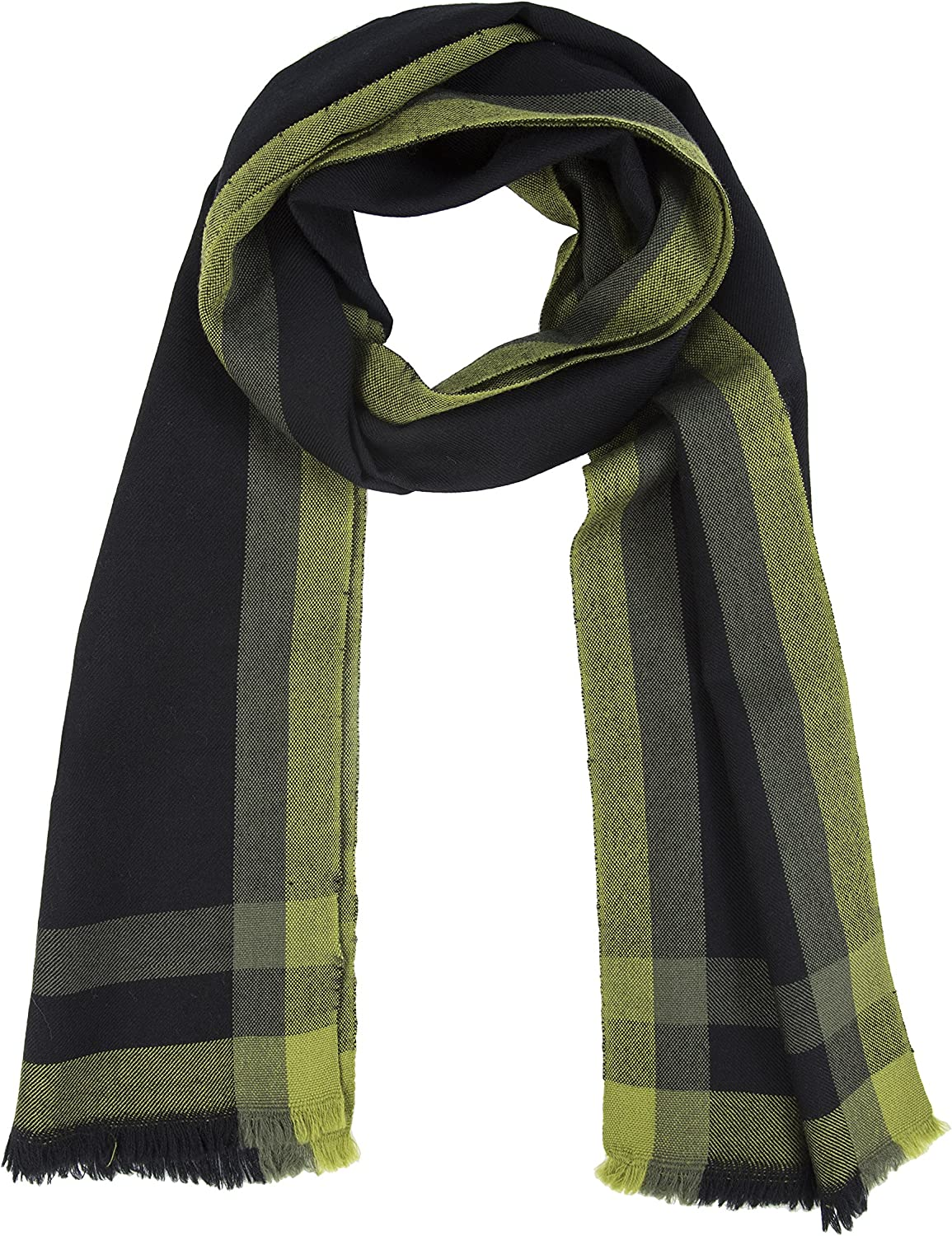 likemary 100% Merino Checks Scarf Pure Wool Winter Pashmina Traditional Houndstooth Plaid Ethical Gift