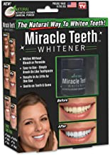 ONTEL Miracle Teeth Whitener | Natural Whitening Coconut Charcoal Powder | Gentle on Teeth and Gums and Removes Stains Caused by Smoking, Coffee, Soda, Red Wine and More! – As Seen on TV