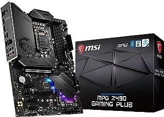 MSI MPG Z490 GAMING PLUS マザーボード ATX [Intel Z490チップセット搭載] MB4954