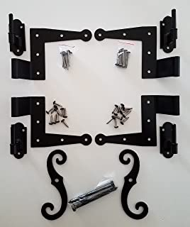 Stainless Steel Colonial Shutter Hardware (1/2
