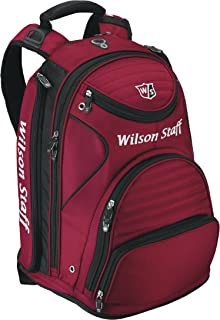 534091a999 Wilson WGB140700DRED Staff - Mochila, Color Rojo y Negro