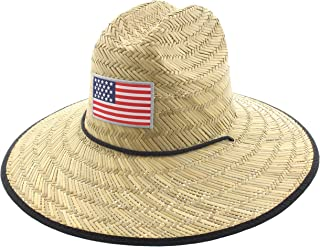 Jfh Patriotic Straw Hat