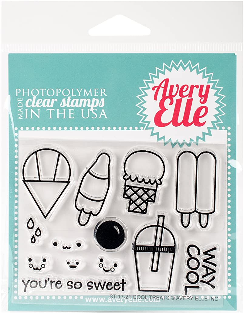 Avery Elle ST-17-21 Clear Stamp Set 4