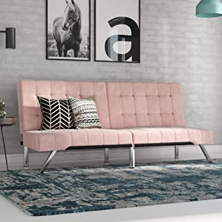 Outstanding Amazon Com Pink Sofas Couches Living Room Furniture Interior Design Ideas Gentotthenellocom