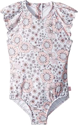 Seafolly Kids - Summer Wallflower Surf Tank One-Piece (Infant/Toddler/Little Kids)