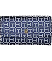 Tommy Hilfiger - TH Serif Signature Convertible Crossbody Wallet