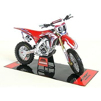 Unknown K Roczen 2017 Newray Model Motorcycle 1 12 Honda Crf 450 Racing Team Art 57923 Spielzeug