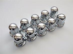 丸型 ナットキャップ 10ヶ入 500487 33mm高さ60mm ロングタイプ ステンレス クロームメッキ