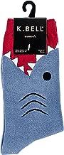 K. Bell Womens Shark Crew Socks