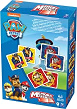 paw patrol matching card game