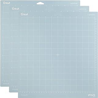 Cricut LightGrip Lot de 3 tapis de découpe adhésifs pour Cricut Explore Air 2/Cricut Maker 30,5 x 30,5 cm