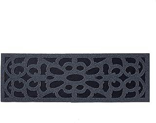 Nicoman Narrow Step Barrier Doormat Eco-Friendly Scrape and Absorbent Indoor/Outdoor Door Mat 75x25cm (30''x10''), Classic...