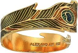 Peacock Ring Wrap - Precious Metal