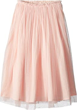 Tulle Overlay Skirt (Toddler/Little Kids/Big Kids)