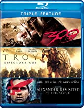 Triple-Feature: Alexander Revisited / Troy / 300