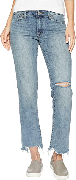 Sweet Mid-Rise Straight Jeans in Airview