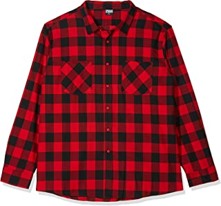 Urban Classics Checked Flanell Regular Fit Freizeit Hemd Camisa para Hombre